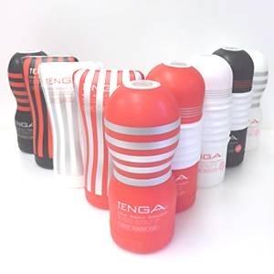 TENGA テンガ 赤 白 黒 ディープ ソフト ロ-リングカップ フルセット9種! ホールウォーマー付き